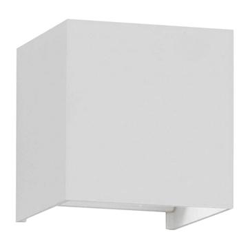 Εικόνα της LED Φωτιστικό Τοίχου Αρχιτεκτονικού Φωτισμού Λευκό Up Down με Ρυθμιζόμενες Μοίρες Φωτισμού 10-100° Ψυχρό Λευκό IP65 GloboStar 96