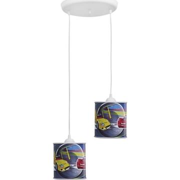 Εικόνα της Κρεμαστό Δίφωτο Φωτιστικό Kid/2L Pendel Cars Φ15 Heronia 36-0008