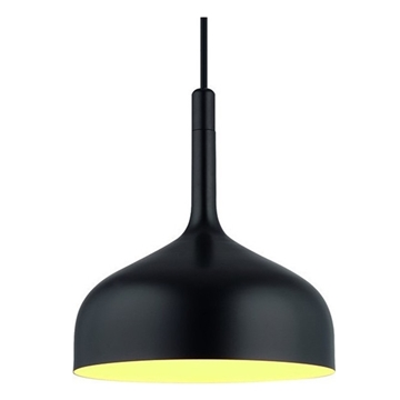 Εικόνα της Homelight Φωτιστικό Μοντέρνο μεταλλικό 1φωτο EOS Μαύρο 77-2179