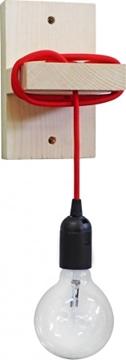 Εικόνα της Απλίκα Τοίχου Κα-01Αρ Red-Wood 31-0957 Heronia