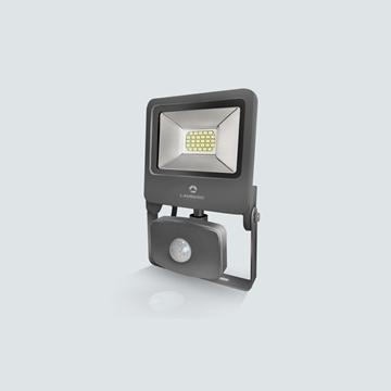 Εικόνα της Προβολέας LED SMD γκρί + αισθητήρα 50w 4200K IP65 Lambario
