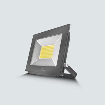 Εικόνα της Προβολέας LED smd 200w 3000K IP65 μαύρος Lambario