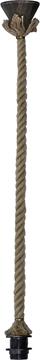 Εικόνα της Ανάρτηση Για Κρεμαστό Μονόφωτο Φωτιστικό Ε/27 Rope Ring Ut-Brοnze Φ18 31-0954 Heronia