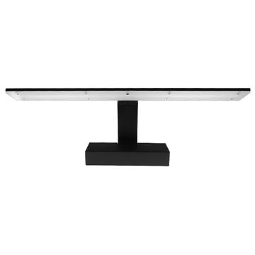 Εικόνα της LED Φωτιστικό Τοίχου 42cm Καθρέπτη/Πίνακα Μαύρο IP54 12W SMD GloboStar 93343