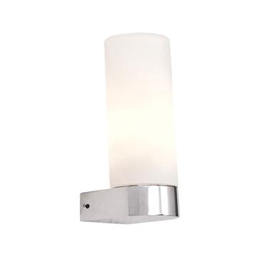Εικόνα της Απλίκα Μπάνιου 1Φ Σε Χρώμιο Και Λευκό Χρώμα Home Lighting Nil 77-3654