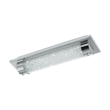 Εικόνα της Led-Απλικα L-350 Χρωμε/Κρυσταλλο Tolorico