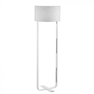 Εικόνα της Επιδαπέδιο Φωτιστικό Jimmi γκρι λευκό Viokef 4196600