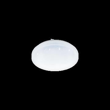 Εικόνα της Φωτιστικό Απλίκα/Πλαφονιέρα LED Φ280 Με Εφέ Κρυστάλλου Frania-S 97877 Eglo