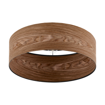 Εικόνα της Φωτιστικό Μονόφωτο Οροφής E27 Καφέ-Μαύρο Cannafesca 98589 Eglo