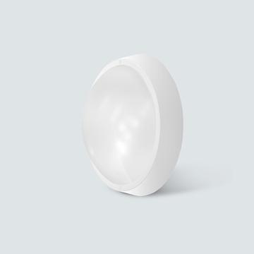 Εικόνα της Πλαφονιέρα led στρογγυλή 12w 900lm 4200K IP65 λευκή Lambario