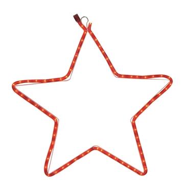 Εικόνα της 2m Χριστουγεννιάτικο Διακοσμητικό Κόκκινο Αστέρι