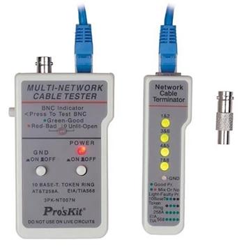Εικόνα της Tester Lan Με Τηλεφωνικη Pro's kit 3PK-NT007N
