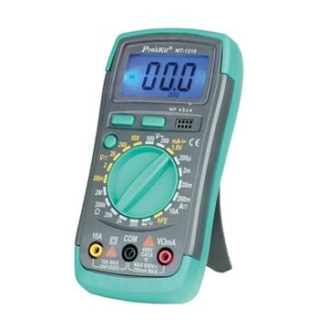 Εικόνα της Πολύμετρο ψηφιακό BASIC MT-1210 S/PRO με θήκη BUZZER