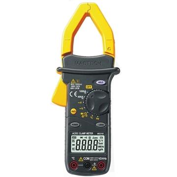 Εικόνα της Αμπεροτσιμπιδα Ψηφιακη Ac/Dc  Θερμομετρο  Χωρητικοτητα Mastech MS2101