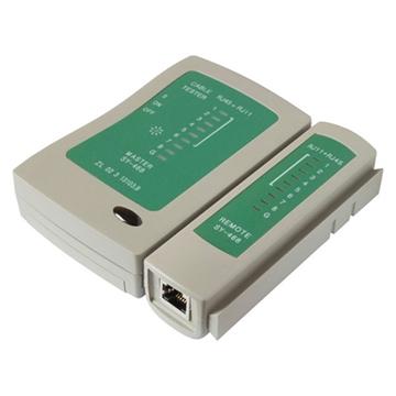 Εικόνα της Tester Lan Με Τηλεφωνικο + Διπλο Display Rg11-Rg45 SAFEWELL SY-468