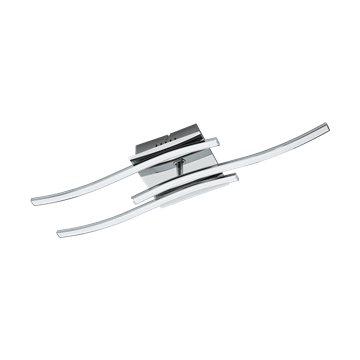 Εικόνα της Φωτιστικό Οροφής Led Χρώμιο/Λευκό Valmora 96326