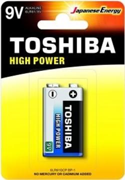 Εικόνα της ΜΠΑΤΑΡΙΑ 9V HIGH POWER 6LR61GCP BP-1 TOSHIBA