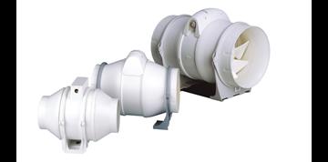 Εικόνα της Φυγοκεντρικός Εξαεριστήρας Φ100 ΙΡ44 Duct In-Line 100/270 Cata