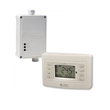 Εικόνα της Bs-818/Kit Ασύρματος Θερμοστάτης με μπαταρία, με έξοδο για καυστήρα