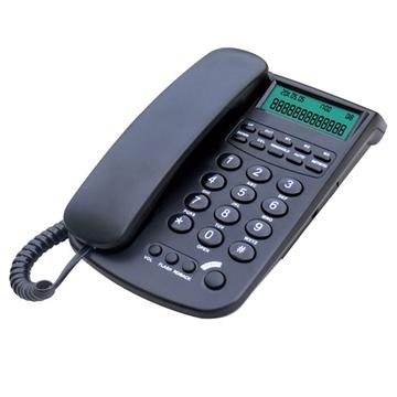 Εικόνα της Τηλέφωνο σταθερό Τelemax CID-1062 Μαύρο Αναγνώριση κλήσης