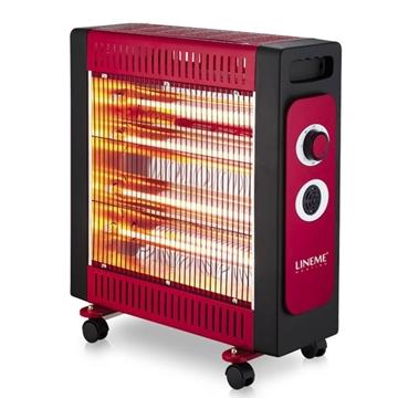 Εικόνα της Ηλεκτρική Σομπα Quartz 2400W 4 λαμπτήρες προστασία υπερθέρμανσης 70-00607 lineme