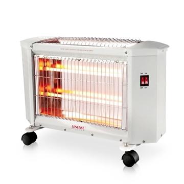 Εικόνα της Ηλεκτρική Σόμπα Χαλαζία Quartz 1800W 3 επιλογές θέρμανσης Lineme 70-00606