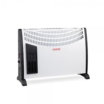 Εικόνα της Θερμαντικά Convector Turbo 2000W 53Χ39Χ20Cm 3 επίπεδα θέρμανσης
