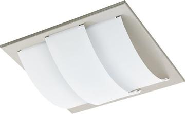 Εικόνα της Φωτιστικό Οροφής LED Νικέλ Μάτ-Λευκό Aranda 96549 Eglo