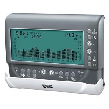 Εικόνα της Ηλεκτρονικός χρονοθερμοστάτης χώρου με οθόνη LCD ψύξη/Θέρμανση Urmet Klimat Zoom