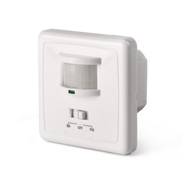Εικόνα της Φωτιστικό LED χωνευτό πρίζας με ανιχνευτή κίνησης και ήχου SCS Sentinel