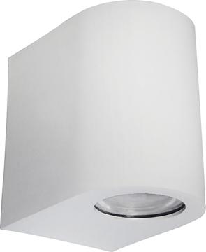 Εικόνα της Φωτιστικό Μονόφωτο Σπότ Εξωτερικού Χώρου Πλαστικό Λευκό IP44 GU10 C-03 15-0190 Heronia