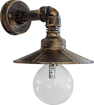 Εικόνα της Φωτιστικό Μονόφωτο Απλίκα Μπρονζέ E27 Ρρ-27Ar/150-S 31-0457 Heronia
