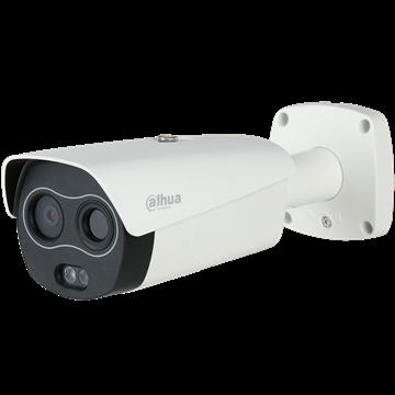 Εικόνα της Dahua Θερμογραφική κάμερα ανίχνευσης θερμοκρασίας σώματος με απόκλιση ± 0,3 βαθμών κελσίου IP Bullet DH-TPC-BF3221-T