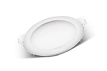 Εικόνα της Panel Led 18W Στρογγυλό Λευκό 4000Κ Χωνευτό Φ205mm Atman