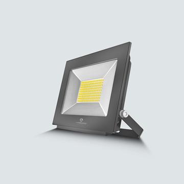 Εικόνα της Προβολέας LED smd 20w 4200K  IP65 μαύρος Lambario