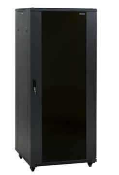 """Εικόνα της ΕΠΙΔΑΠΕΔΙΟ RACK 19"""" με 2 πόρτες (Πλ.600mm X Bαθ.1000mm) 22U Ύψος 120 εκ central"""