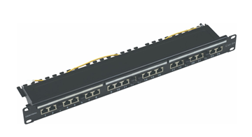 "Εικόνα της PATCH PANEL 19"" UTP / FTP CAT6A (10 Giga) 24 ΘΥΡΩΝ 1U CENTRAL"