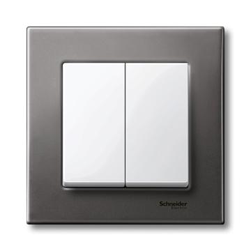 Εικόνα της Merten M-Plan πλακίδιο 2 πλήκτρων Λευκό
