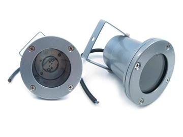 Εικόνα της Φωτιστικό Στρογγυλό Χωνευτό Gl-810 Δαπέδου MR16 Γκρι