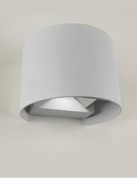 Εικόνα της Φωτιστικό Απλίκα Led Alpha Άσπρη 2x3W IP65 4200K 390Lm Lambario