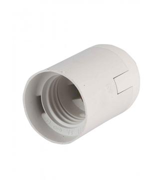 Εικόνα της Πλαστικό Ντουί Λαμπτήρα Ε27 Λευκό