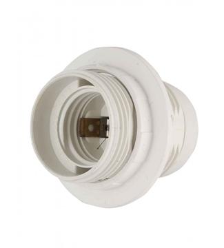 Εικόνα της Πλαστικό Nτουί Λαμπτήρα Ε27 με ροδέλα Λευκό