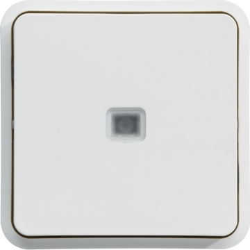 Εικόνα της Cubyko A/R Φωτισμού IP55 Λευκό Hager