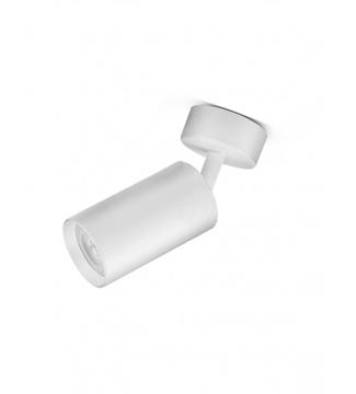 Εικόνα της Φωτιστικό Σποτ Επίτοιχο Μονόφωτο 10cm Αλουμίνιο/Λευκό GU10 Lambario