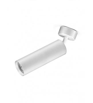 Εικόνα της Φωτιστικό Σποτ Επίτοιχο Μονόφωτο 20cm Αλουμίνιο/Λευκό GU10 Lambario