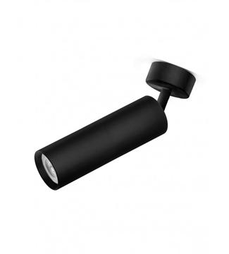 Εικόνα της Φωτιστικό Σποτ Επίτοιχο Μονόφωτο 20cm Αλουμίνιο/Μαύρο GU10 Lambario