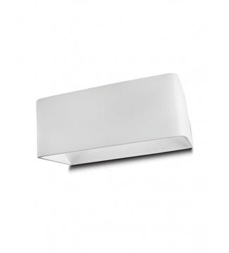 Εικόνα της Φωτιστικό LED Απλίκα Αλουμίνιο/Λευκό 10W 4200K Lambario