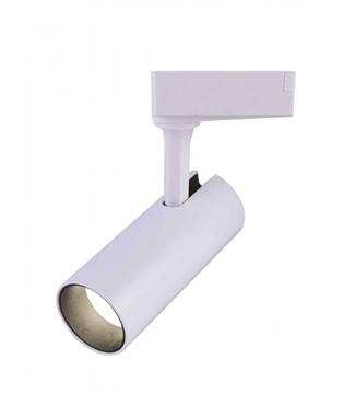 Εικόνα της Σποτ Ράγας LED Λευκό 10W 800Lm 3000K Lambario