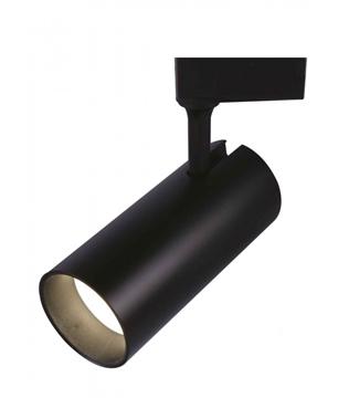 Εικόνα της Σποτ Ράγας LED Μαύρο 30W 2400Lm 3000K Lambario