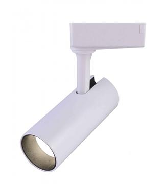 Εικόνα της Σποτ Ράγας LED Λευκό 10W 800Lm 4000K Lambario